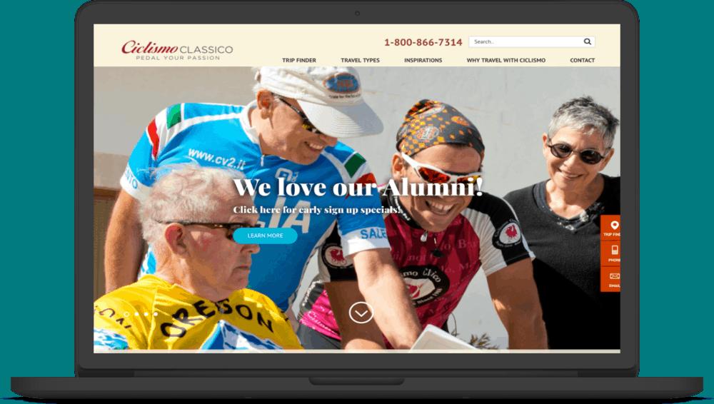 Ciclismo Classico WordPress Site